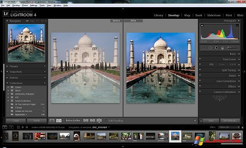 Screenshot Adobe Photoshop Lightroom for Windows XP