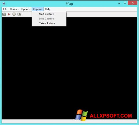 Screenshot ECap for Windows XP