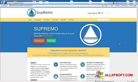 Screenshot Supremo for Windows XP