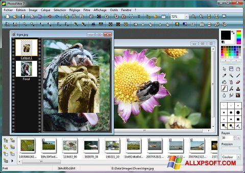 Screenshot PhotoFiltre for Windows XP