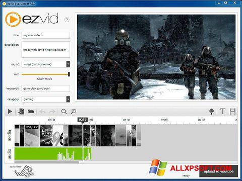 Screenshot Ezvid for Windows XP