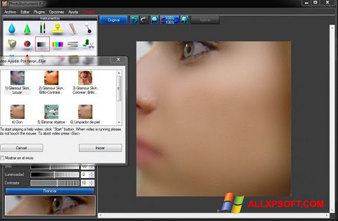 Screenshot PhotoInstrument for Windows XP