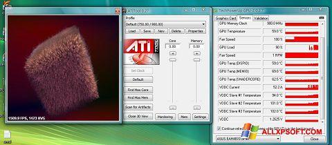 Screenshot ATITool for Windows XP
