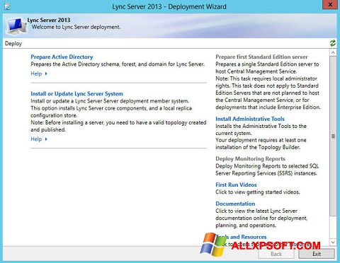 Screenshot Lync for Windows XP