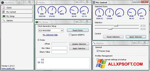 Screenshot ClockGen for Windows XP