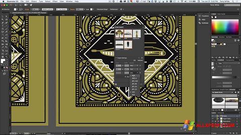 Screenshot Adobe Illustrator for Windows XP