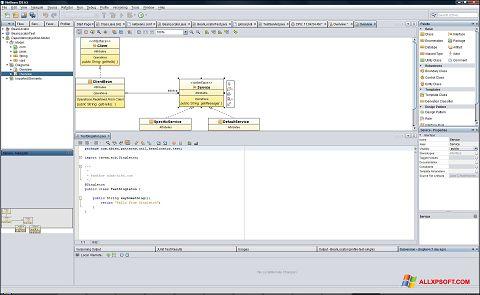 Screenshot NetBeans for Windows XP