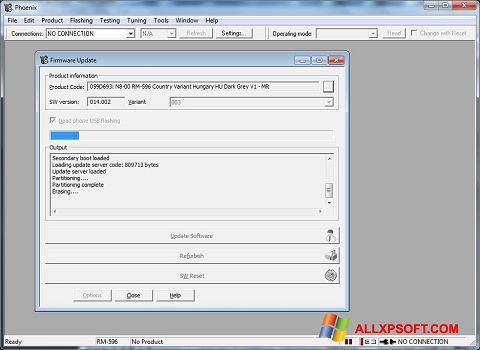 Screenshot Phoenix for Windows XP