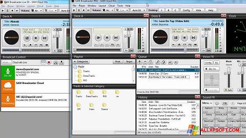 Screenshot SAM Broadcaster for Windows XP