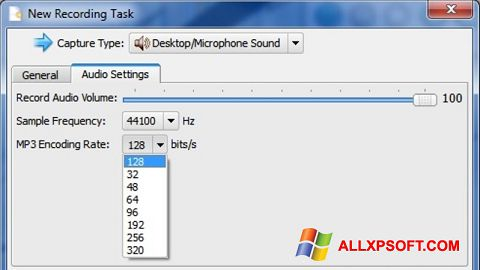 Screenshot SMRecorder for Windows XP