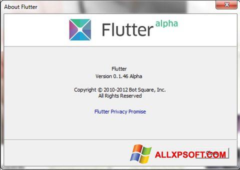 Screenshot Flutter for Windows XP