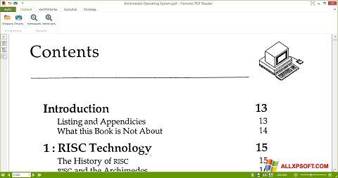 Screenshot Hamster PDF Reader for Windows XP