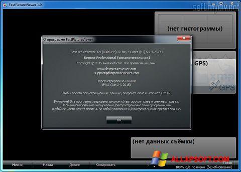 Screenshot FastPictureViewer for Windows XP