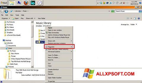 Screenshot MagicISO for Windows XP