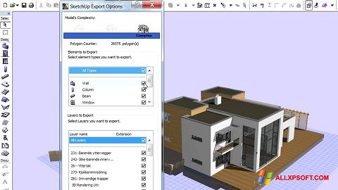 Screenshot ArchiCAD for Windows XP