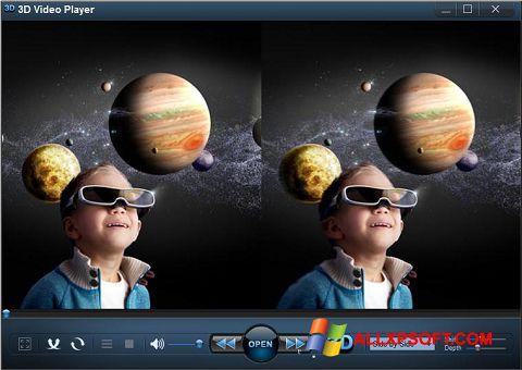 Screenshot 3D Video Player for Windows XP