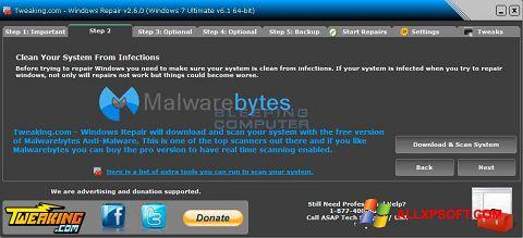 Screenshot Windows Repair for Windows XP