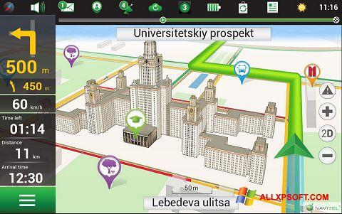 Screenshot Navitel Navigator for Windows XP