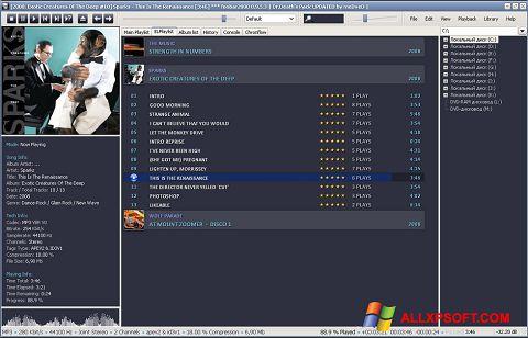 Screenshot Foobar2000 for Windows XP