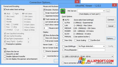 Screenshot UltraVNC for Windows XP
