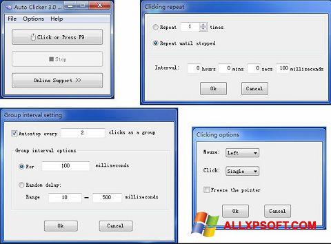 Screenshot GS Auto Clicker for Windows XP