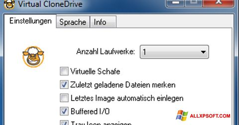 Screenshot Virtual CloneDrive for Windows XP