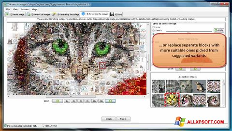 Screenshot Photo Collage Maker for Windows XP