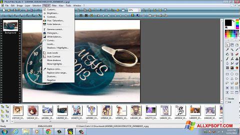 Screenshot PhotoFiltre Studio X for Windows XP