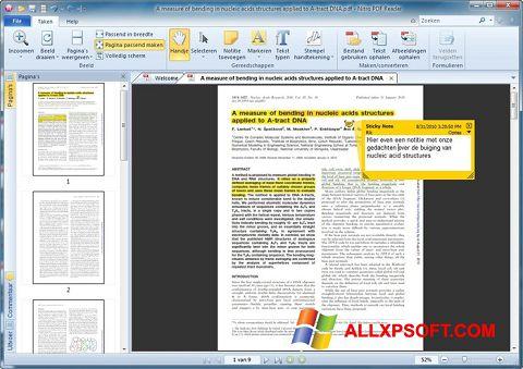 Screenshot Nitro PDF Reader for Windows XP