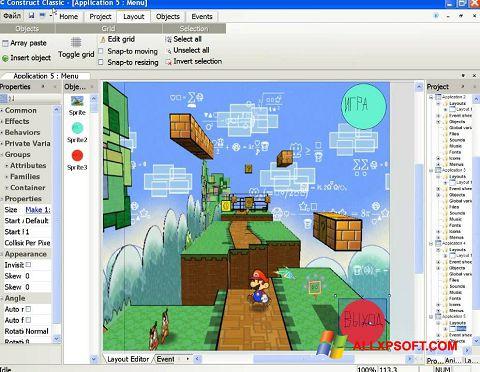 Screenshot Construct Classic for Windows XP