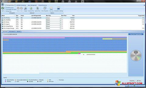 Screenshot PerfectDisk for Windows XP