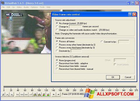 Screenshot VirtualDubMod for Windows XP