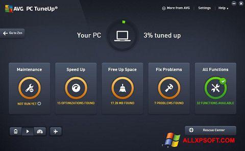Screenshot AVG PC Tuneup for Windows XP