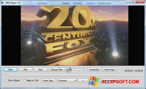 Screenshot MKV Player for Windows XP