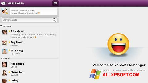 Screenshot Yahoo! Messenger for Windows XP