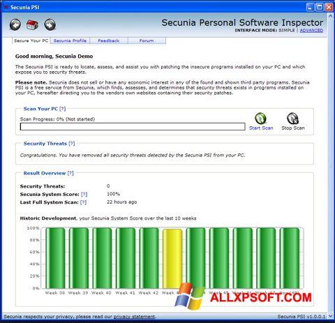 Screenshot Psi for Windows XP