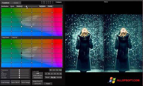 Screenshot 3D LUT Creator for Windows XP