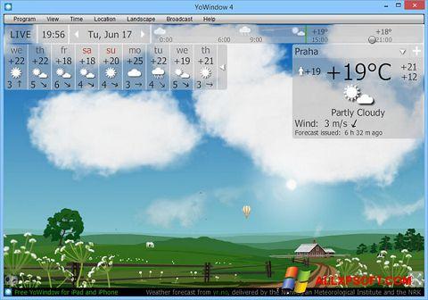 Screenshot YoWindow for Windows XP