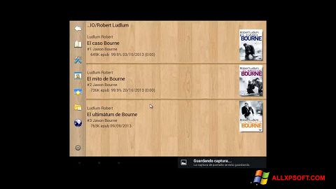 Screenshot Cool Reader for Windows XP