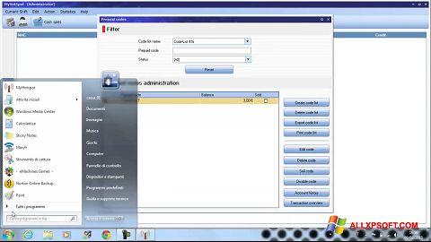 Screenshot MyHotspot for Windows XP