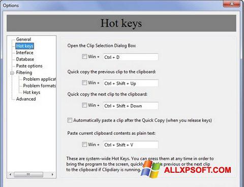 Screenshot Clipdiary for Windows XP