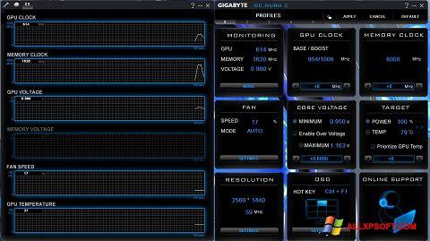 Screenshot GIGABYTE OC Guru for Windows XP