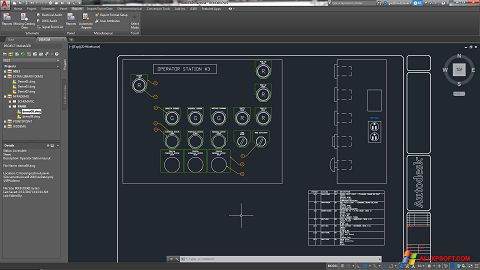 Screenshot AutoCAD Electrical for Windows XP