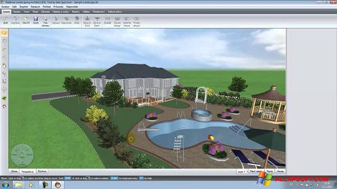 Screenshot Realtime Landscaping Architect for Windows XP
