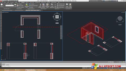 Screenshot AutoCAD Architecture for Windows XP
