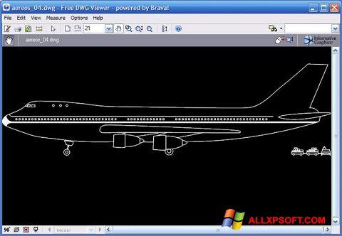 Screenshot DWG Viewer for Windows XP