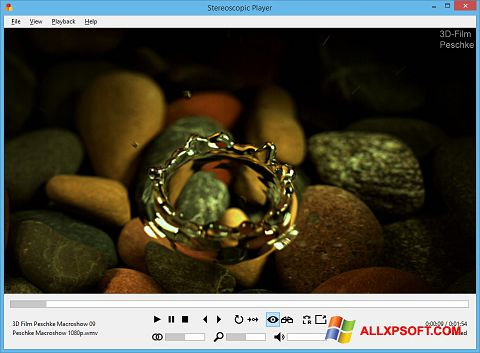 Screenshot Stereoscopic Player for Windows XP