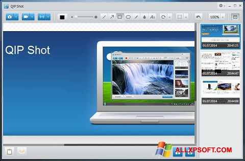 Screenshot QIP for Windows XP