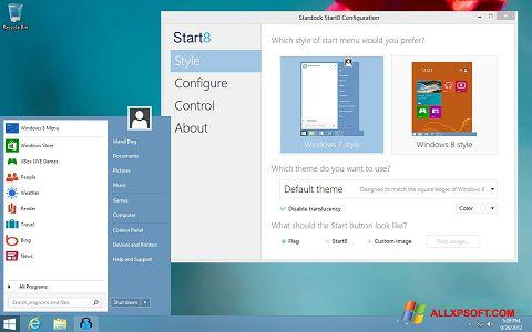 Screenshot Start8 for Windows XP