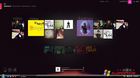 Screenshot Zune for Windows XP